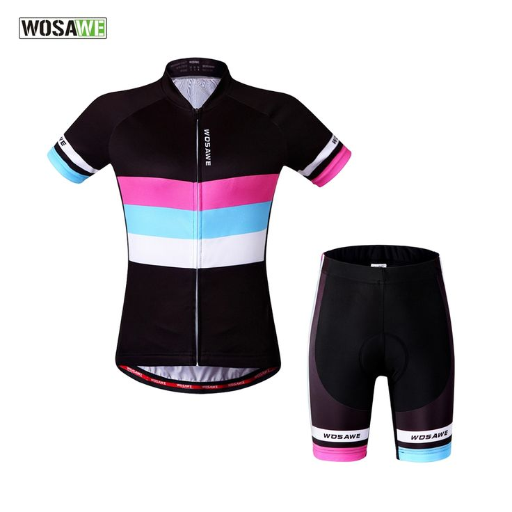 46.02$  Watch now - http://alilin.shopchina.info/go.php?t=32793366097 - 2017 women cycling jersey sleeve biking wear white black blue pink purple cycling clothes sets  jersey cycling  46.02$ #aliexpressideas