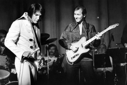 James Burton & Elvis