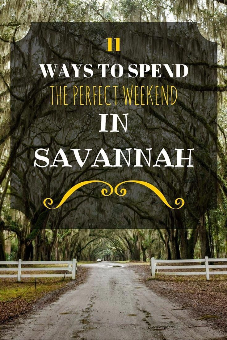 The Best Things To Do In Savannah Georgia Savannah Chat Places