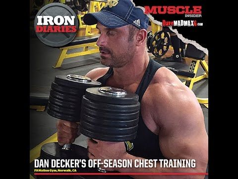 Off season chest training with Dan Decker