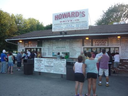 Great New England Roadside Stands: Howard's Drive-In, West Brookfield, Mass. http://www.visitingnewengland.com/howards-drive-in-restaurant.html