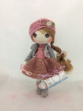 Beautiful crochet doll