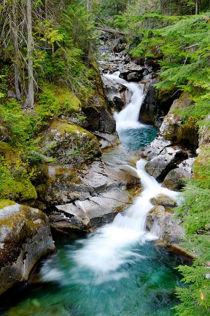 Kokanee Creek Waterfall by Michael James Imagery, via Flickr; British Columbia, Canada