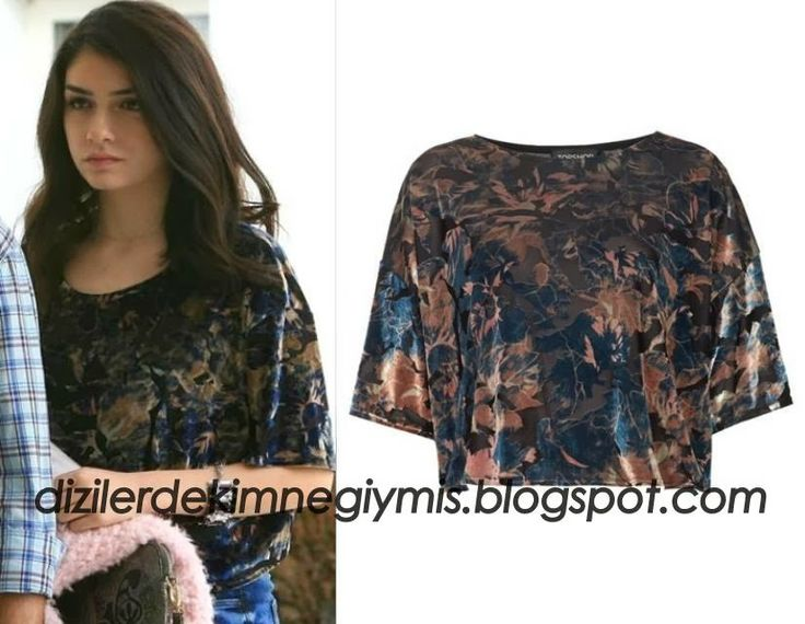 Medcezir - Eyll (Hazar Ergl), Topshop Floral Top please follow me,thank you i will refollow you later