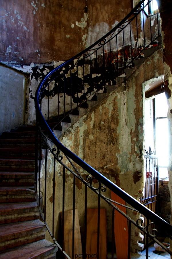Budapest, Hungary - Stairway to nowhere