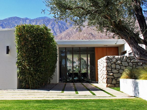 Best Midcentury Modern Home Yard Designs Images On Pinterest