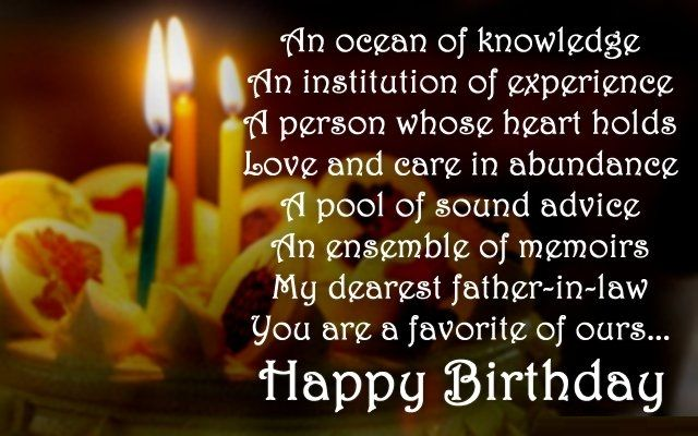 Birthday Wishes Messages for father – dad's Bday