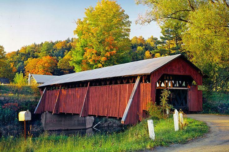 Visit America's Most Idyllic Covered Bridges ...