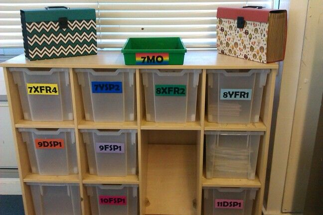 Book boxes and independent learning folders | MorganMFL ...