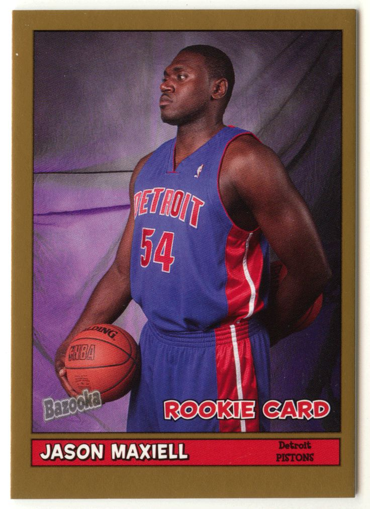 Jason Maxiell # 198 - 2005-06 Topps Baz Basketball Gold