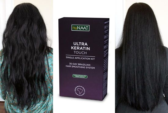 Looking for a Formaldehyde-free Brazilian Hair Treatment? Found. {@nuNAAT Ultra Keratin Touch #Review}