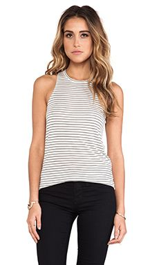 Bella Luxx Tissue Slouchy Tank In Monterey Stripe WAS $73.06 NOW $51.57 http://www.richgurl.com/linkout/1692023