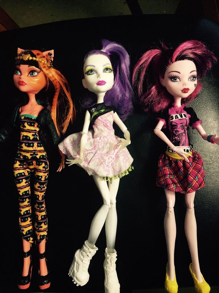 Monster High dolls toys bundle,GREAT CONDITION