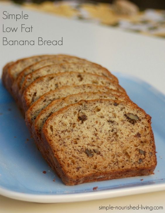 Easy Low Fat Banana Bread 93