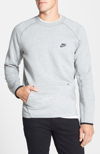 Nike 'Tech Fleece' Thermal Crewneck Sweatshirt available at #Nordstrom