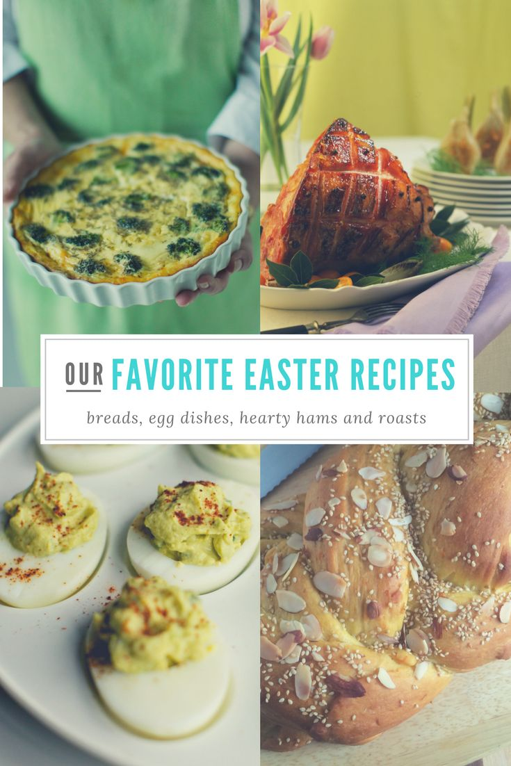 22 Easter recipes: Celebrate with specialty breads, egg dishes, hearty hams and roasts http://trib.al/njvbmjR