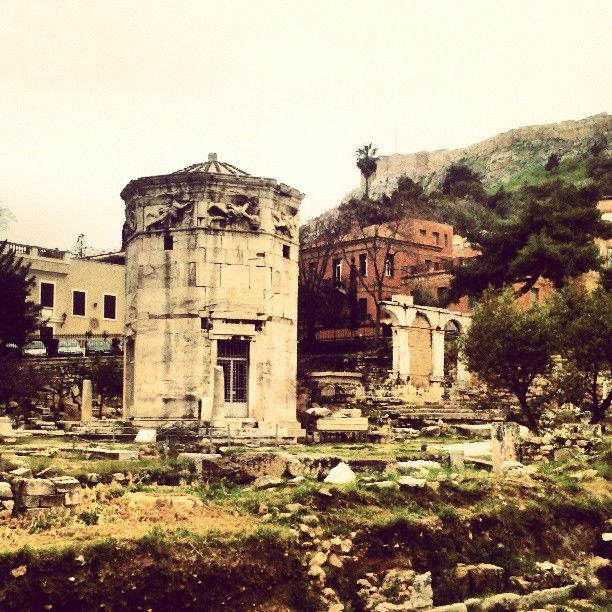 Αέρηδες - Ωρολόγιο του Κυρρήστου (Tower of the Winds-Horologion of Andronicos) in Αθήνα, Αττική