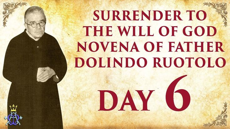 Surrender to The Will Of God Novena of Father Dolindo