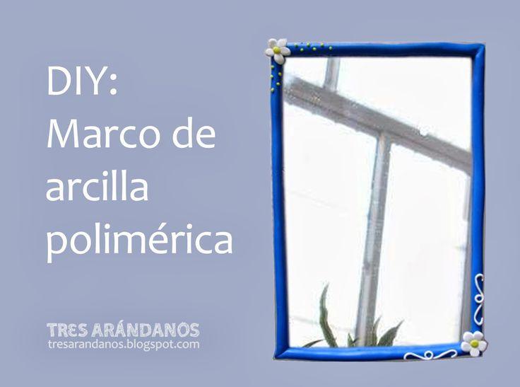 Marco de arcilla polimérica