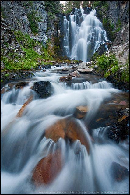 Kings Creek Falls - Lassen National Park