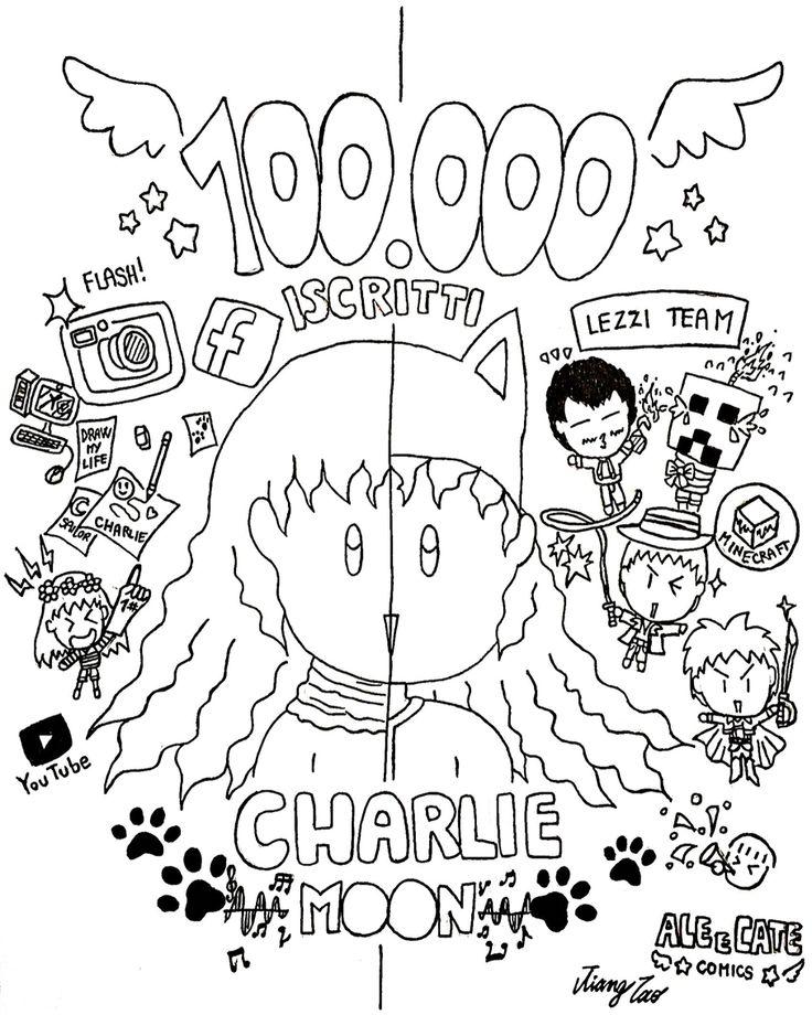 Charliemoon - 100 000 iscritti YouTube