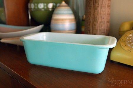Pyrex Turquoise Loaf Pan