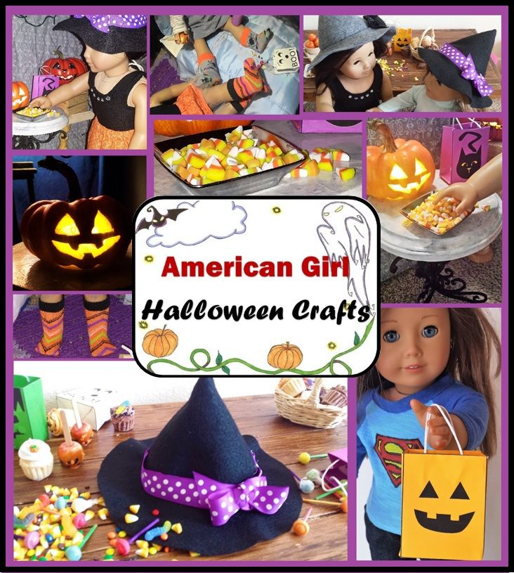FREE Halloween Crafts for American Girl Dolls