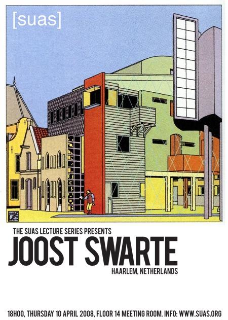Dutch cartoonist and graphic designer Joost Swarte