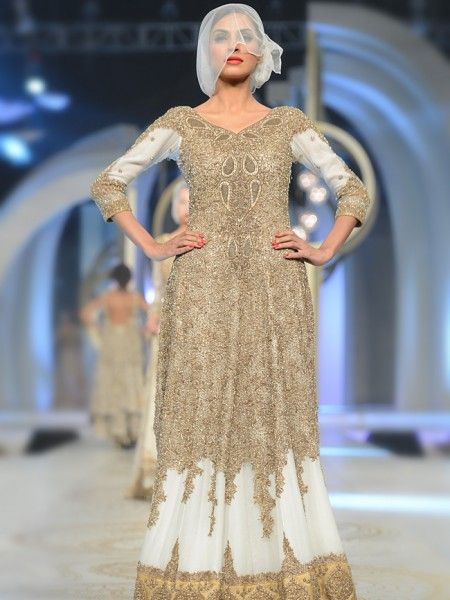 Pakistani Models in Light Shades Bridal Wear designs Latest HSY Bridal Dresses Collection 2017 Put these dresses on and get an extensive look with HSY Bridal Dresses Collection 2017. #HSY #Bridal #Wedding #Marriage #Indian #Pakistani  #DesignerWear #Love #Fashion  #Style #Lehnga #Mehndi #Barat #Walima #Reception #Designer #Traditional #Bride #Embroidered Paris Fashion Week, London Fashion Week, New York Fashion Week, Pakistan Bridal Week, PFDC Fashion Week, Bridal Collection, Fashion Week…