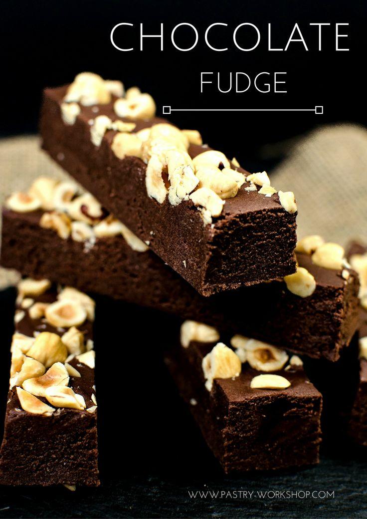 Chocolate Fudge www.pastry-workshop.com