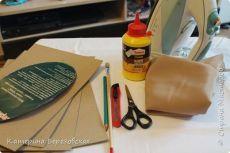 МК по обтягиванию картона тканью | Страна Мастеров