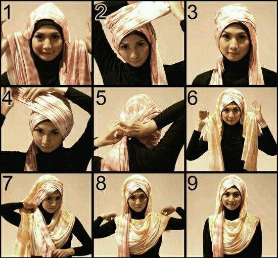 TUTORIAL HIJAB 5