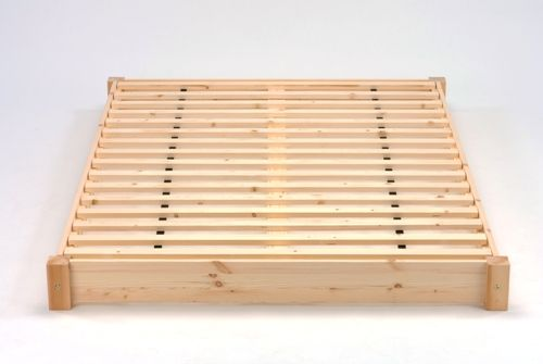The Kochi Bed Frame is made from nice redwood pine for strength and durability.