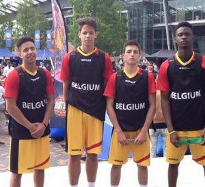 3x3 basketbelgium U18 Boys: notre équipe nationale masculine qualifiée pour le championnat d'Europe - vidéos