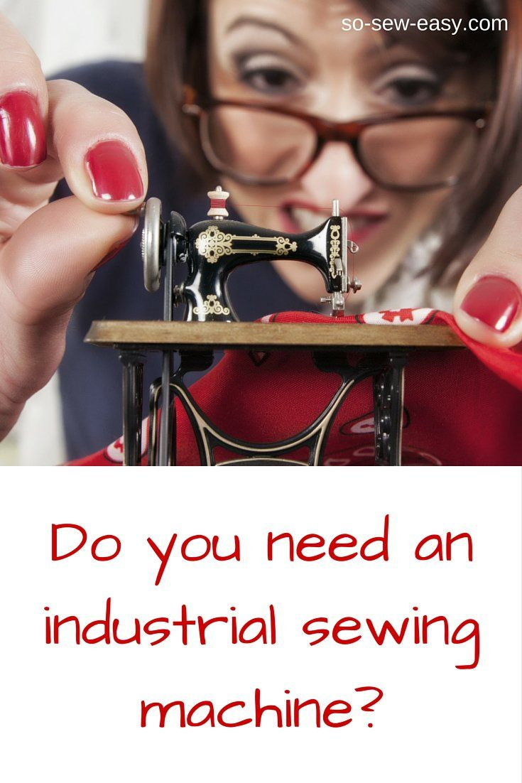 Do you need a machine with professional stitches that will sew many different kinds and thicknesses of fabric? You know the answer.