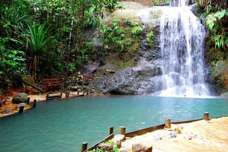 Epic Fiji. Loooove hiking and waterfalls ♡ #rebeccaingramcontest #fijiairways #yasawaislandresort