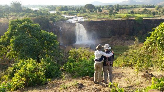 Las controvertidas fuentes del Nilo Azul