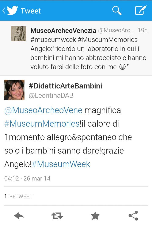 La #museumweek del Museo Archeologico Nazionale di Venezia | Il blog del Museo Archeologico di Venezia