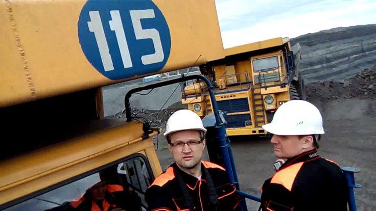 Верхом на 130 тонном БЕЛАЗЕ. Угольный разрез Степной