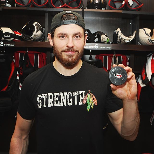 Better late than never: here's Kempny with the puck from his first NHL goal #️⃣1️⃣