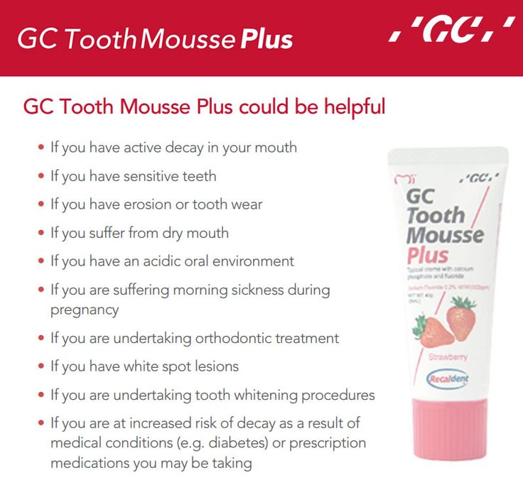 #ToothMoussePlus offers the same great benefits of regular MI Paste; it is enhanced with a patented form of fluoride to strengthen tooth enamel and protect teeth from caries development For more information Call Toll free: 1800-425-3132