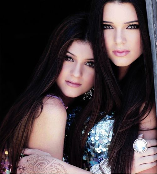 Kendall and Kylie...the Jenner sisters