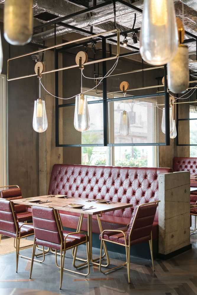 25 Best Ideas About Restaurant Interiors On Pinterest