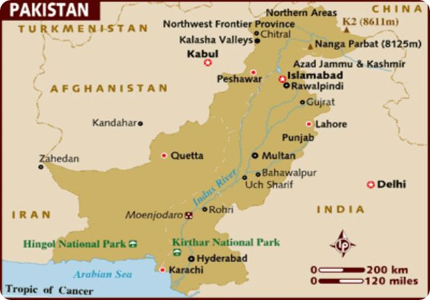 Pakistan Map Tourist Attractions - http://travelsfinders.com/pakistan-map-tourist-attractions.html