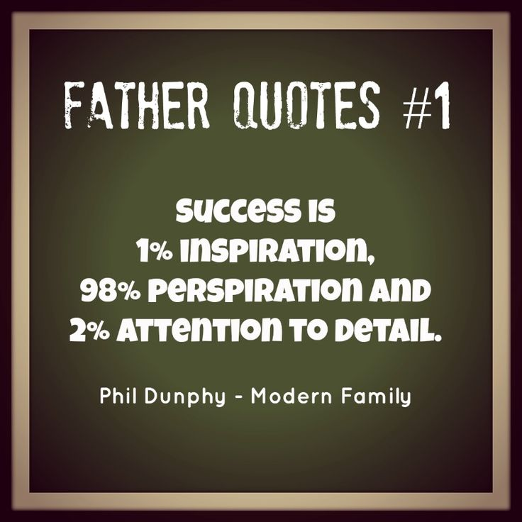 Phil Dunphy philsosophy – Advices for a daughter – Modern Family
