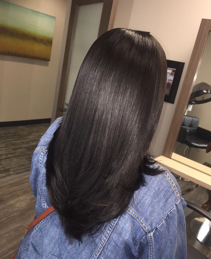 Straight Hair Looks: 2591 Best Images About Straightened Natural Hair On