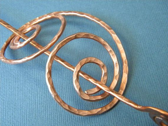 Hey, I found this really awesome Etsy listing at http://www.etsy.com/listing/155115012/barrette-copper-hair-clip-hair-clips