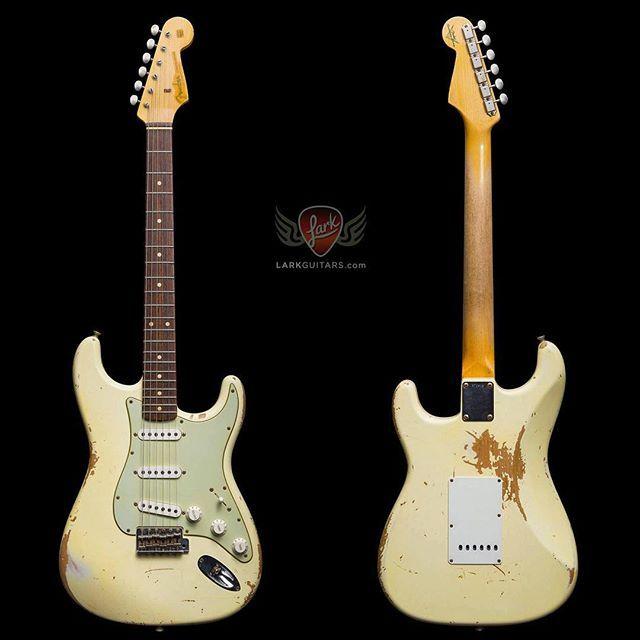Fender Custom Shop 1960 Stratocaster Heavy Relic - Vintage White