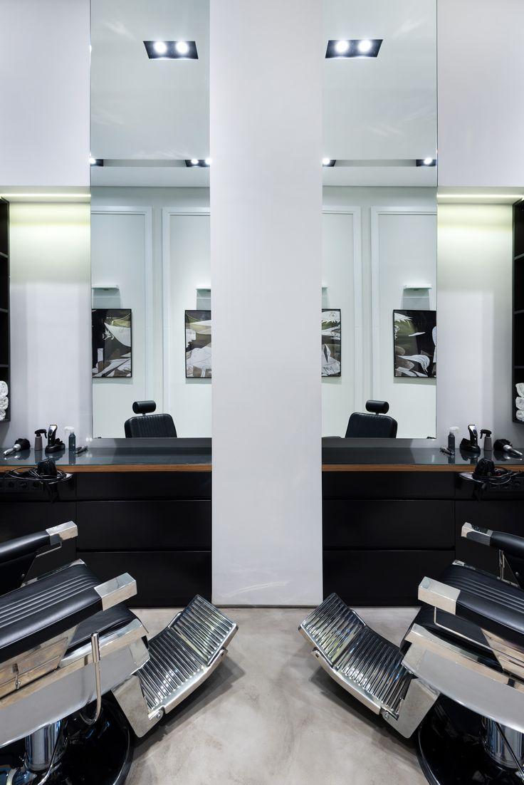 Barbers re-branding and refurbishment, Patra www.masterworks.gr