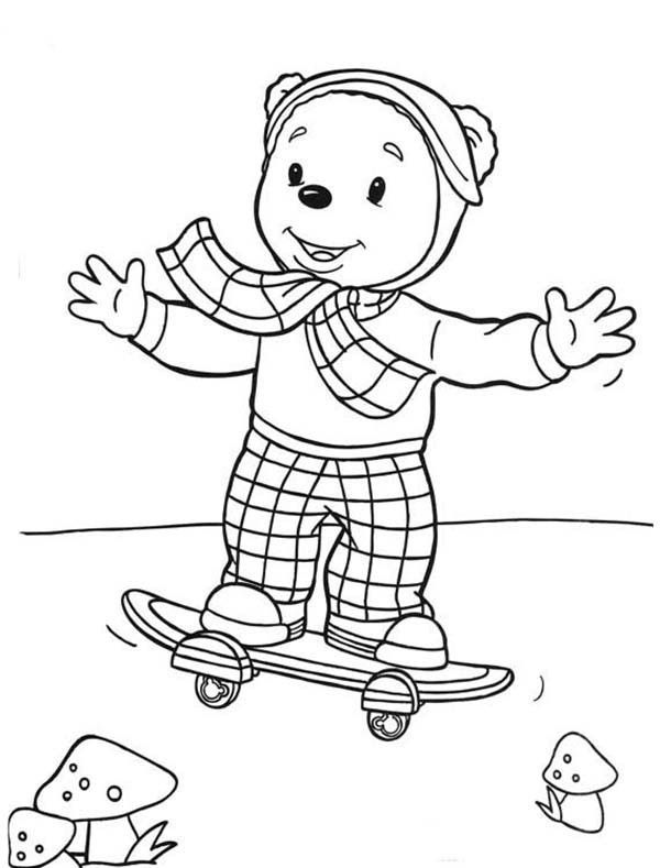 93 Skateboard Coloring Pages Online